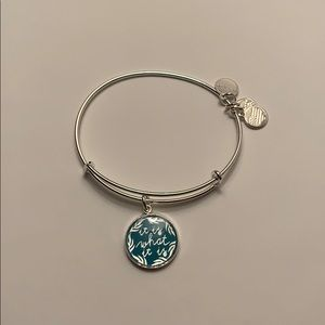 "Alex and Ani ""It Is What It Is"" Solver Bangle"